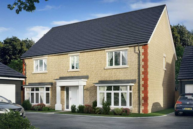 "Thumbnail Detached house for sale in ""The Woolstone"" at Vale Road, Bishops Cleeve, Cheltenham"