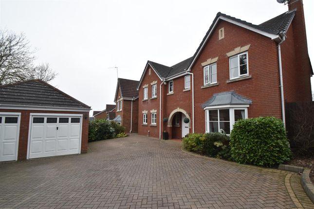 Thumbnail Detached house for sale in Rockingham Lane, Warndon, Worcester