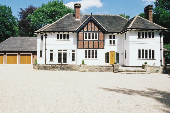 Thumbnail Detached house to rent in Roman Road, Little Aston, Sutton Coldfield
