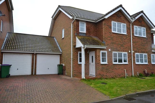 Thumbnail Semi-detached house for sale in Meadow View, Lydd, Romney Marsh