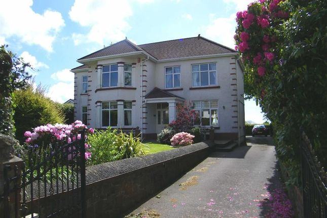 Thumbnail Detached house for sale in Swansea Road, Penllergaer, Swansea