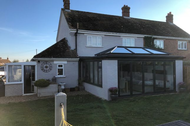 Thumbnail Semi-detached house for sale in Bradmere Lane, Docking, King's Lynn