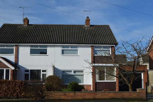 Thumbnail Semi-detached house for sale in Queens Road, Vicars Cross, Chester