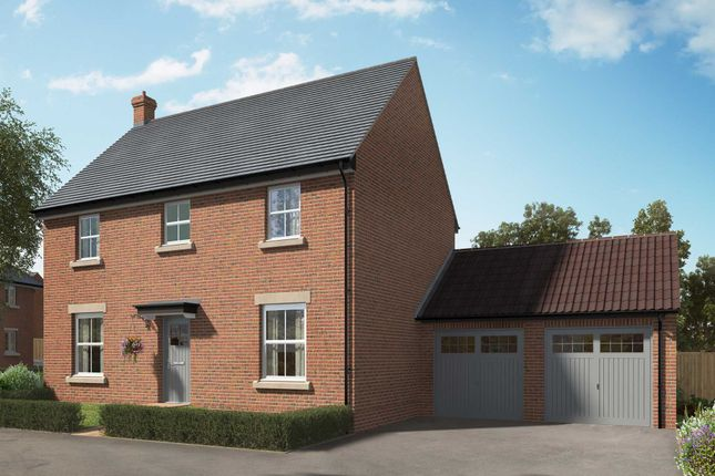 "Thumbnail Detached house for sale in ""The Casterton"" at Hill Top Close, Market Harborough"