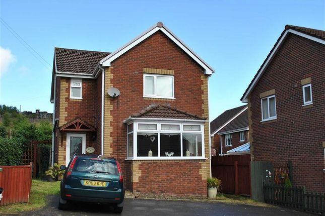 Thumbnail Detached house to rent in Heol Evan Wynne, Pontlottyn, Bargoed