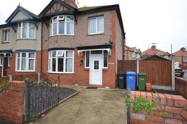 Thumbnail Semi-detached house for sale in Clifton Grove, Rhyl