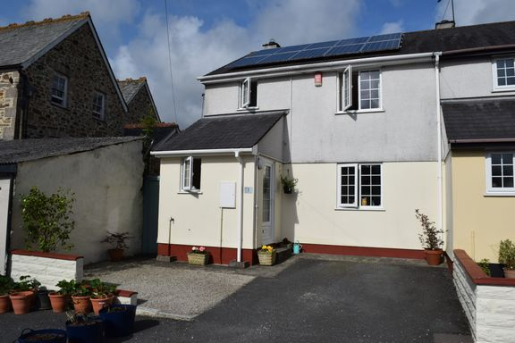 Thumbnail Semi-detached house for sale in Chapel Court, Chacewater, Truro
