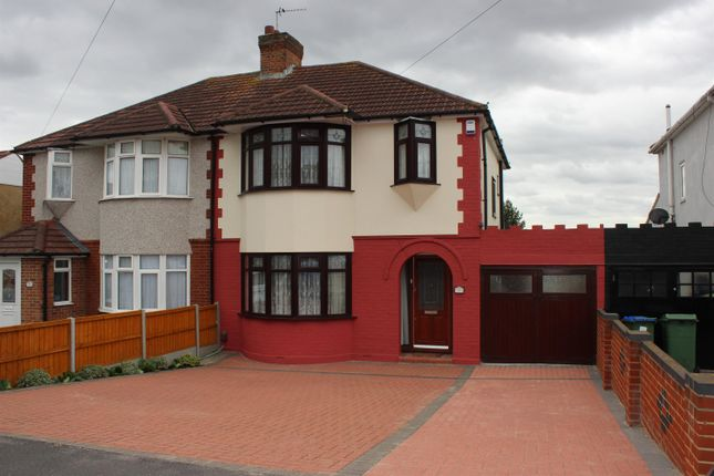 Thumbnail Semi-detached house for sale in Parsonage Manorway, Belvedere, Kent