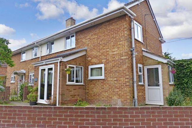 Thumbnail Semi-detached house for sale in Charles Road, Durrington, Salisbury