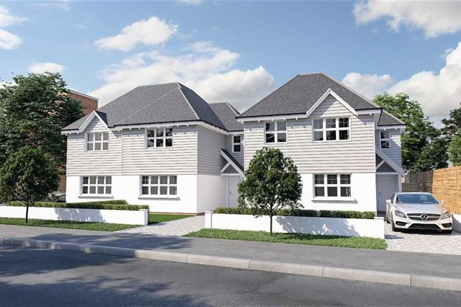 Thumbnail Detached house for sale in Wortley Road, Highcliffe, Christchurch