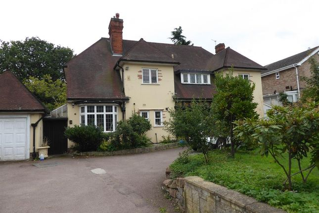 Thumbnail Detached house to rent in Hagley Raod, Harborne, Birmingham