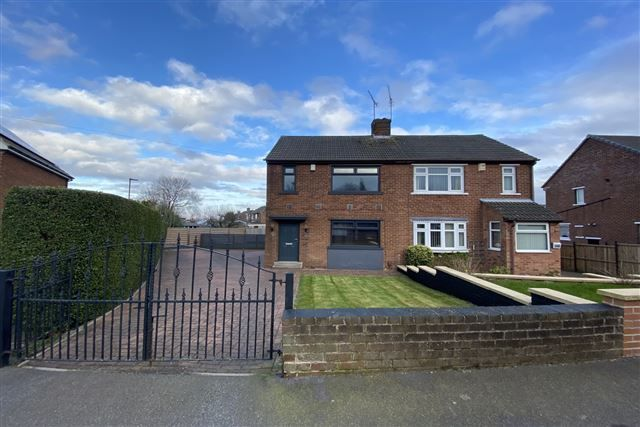 Front of Beaver Hill Road, Handsworth, Sheffield S13