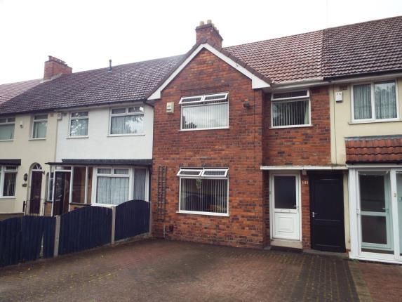 3 bed terraced house for sale in The Ridgeway, Erdington, Birmingham, West Midlands