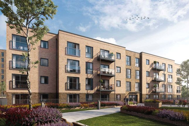 Thumbnail Flat for sale in Wilson Court, Saxon Square, Luton, Bedfordshire