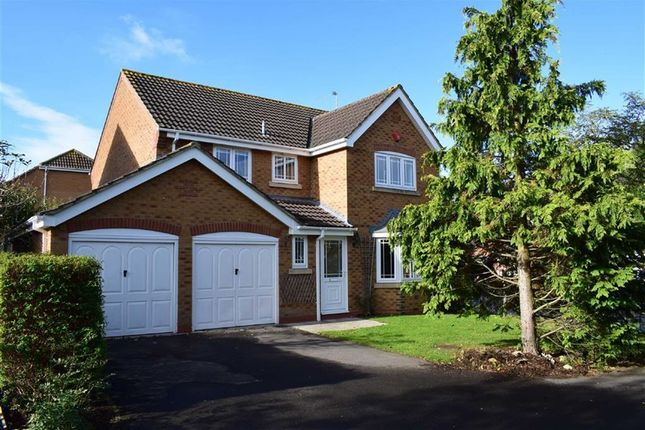 Thumbnail Detached house for sale in Turpin Way, Chippenham, Wiltshire