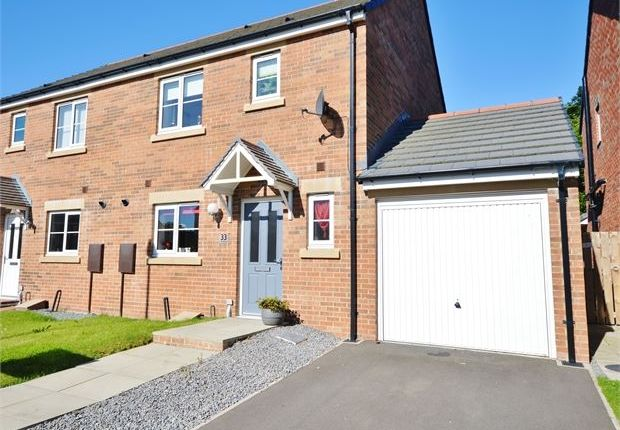 Thumbnail Semi-detached house for sale in Waxwing, Emerson Park, Washington, Tyne & Wear.