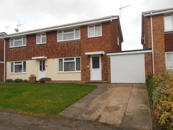 Thumbnail Semi-detached house for sale in Wellpond Close, Sharnbrook, Bedford, Bedfordshire