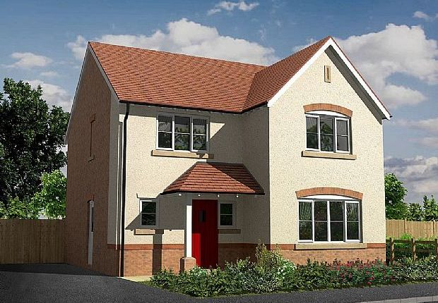 Thumbnail Detached house for sale in Sherbourne, Manor Fields, Wrexham Road, Whitchurch, Shropshire