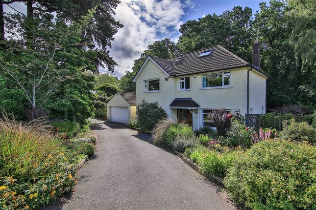 Thumbnail Detached house for sale in Lisvane Road, Lisvane, Cardiff