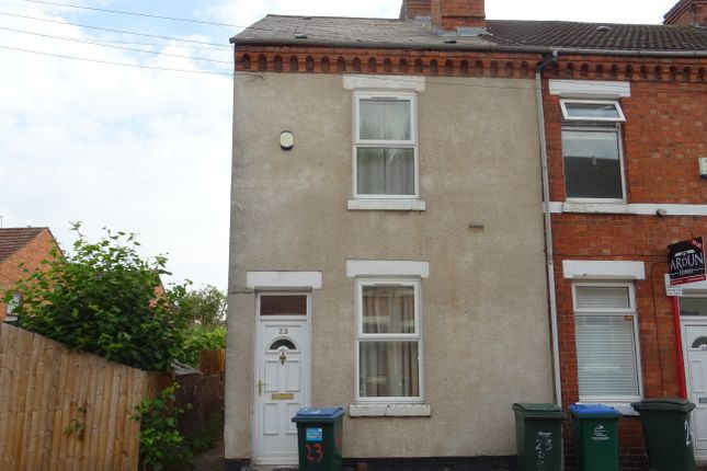 Thumbnail End terrace house to rent in Bedford Street, Earlsdon, Coventry