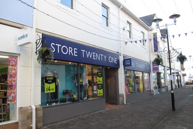 Thumbnail Retail premises to let in 21-22 Merlin's Walk, Carmarthen