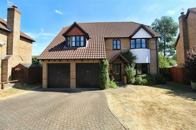 Thumbnail Detached house for sale in Lynmouth Crescent, Furzton, Milton Keynes
