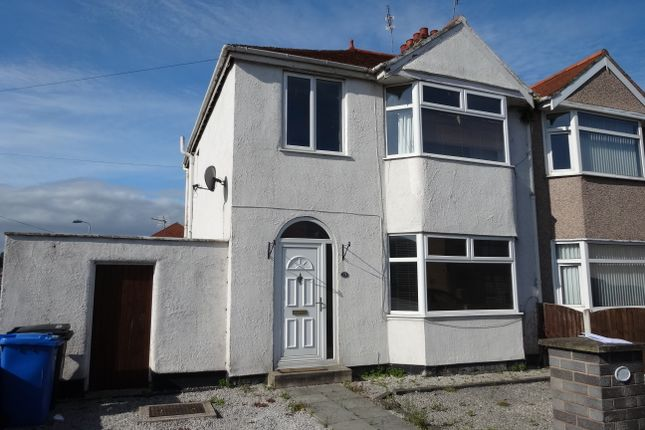Thumbnail Semi-detached house to rent in Knowsley Avenue, Rhyl