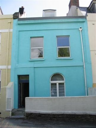 Thumbnail Town house to rent in Mount Street, North Hill, Plymouth