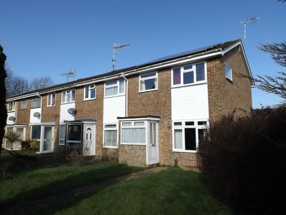 Thumbnail End terrace house for sale in Coleridge Close, Goring-By-Sea, Worthing, West Sussex