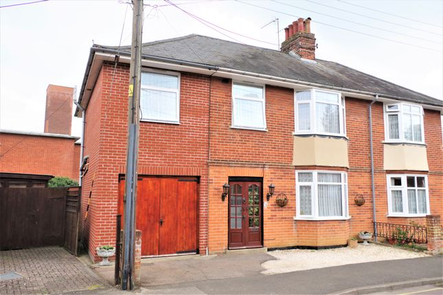 Semi-detached house for sale in Kensington Road, Stowmarket