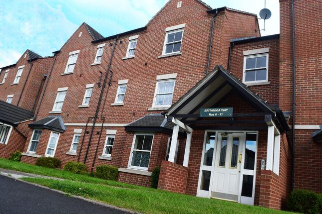 Thumbnail Flat to rent in Britannia Way, Hadley, Telford