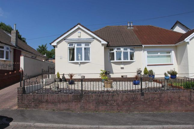 Thumbnail Semi-detached bungalow for sale in Energlyn Close, Caerphilly