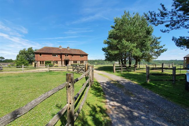 Thumbnail Equestrian property for sale in Wych Cross, Forest Row