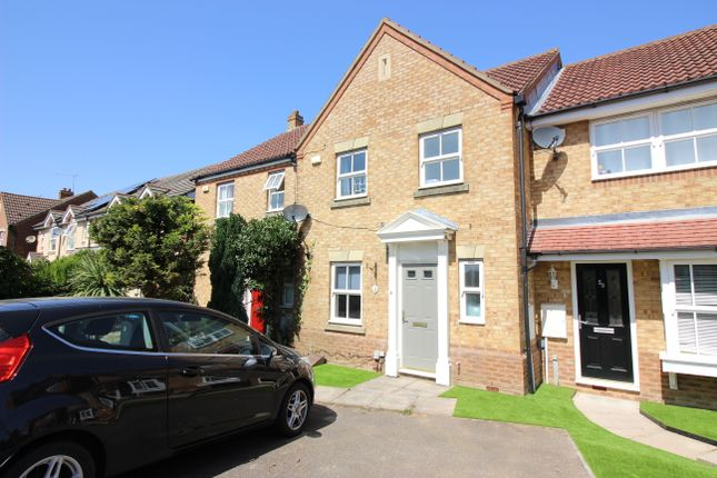 Thumbnail Terraced house to rent in Doulton Close, Church Langley