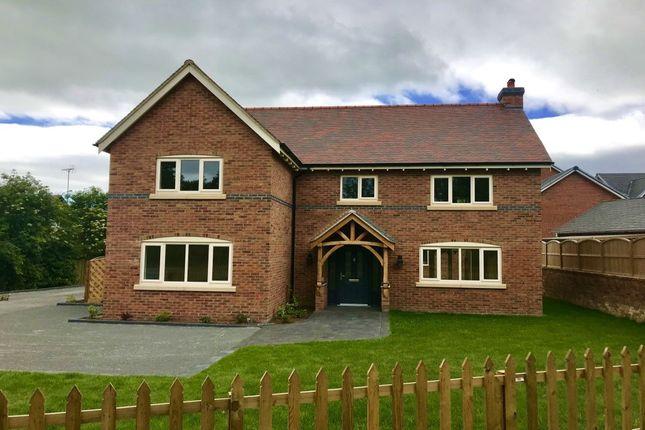 Thumbnail Detached house for sale in Chester Road, Nomans Heath, Malpas