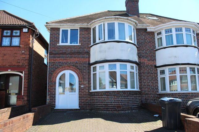 Thumbnail Semi-detached house for sale in Wyndhurst Road, Birmingham