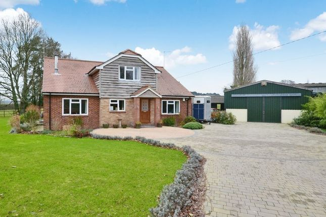 Thumbnail Detached house for sale in Romsey Road, Lockerley, Romsey