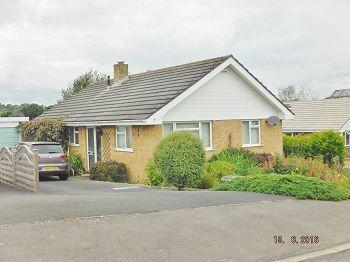Thumbnail Detached bungalow to rent in Lake Lane, Bridport