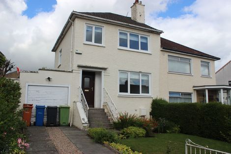 Thumbnail Semi-detached house to rent in Park Crescent, Bishopbriggs