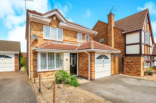 Thumbnail Detached house for sale in Batcheldor Gardens, Bromham, Bedford, Bedfordshire
