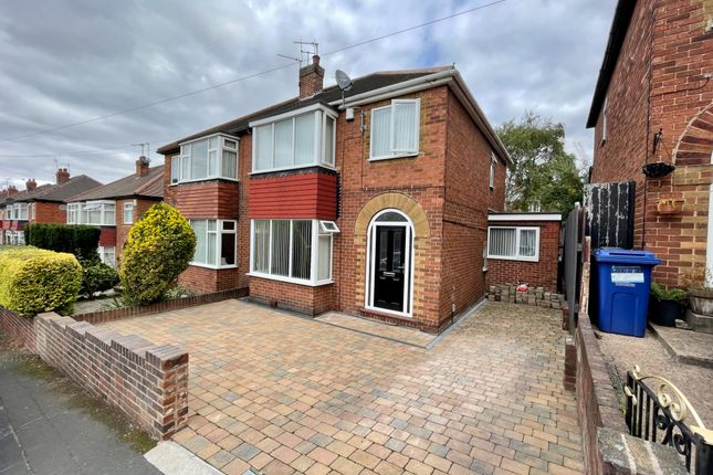 Thumbnail Semi-detached house for sale in St. James Gardens, Balby, Doncaster