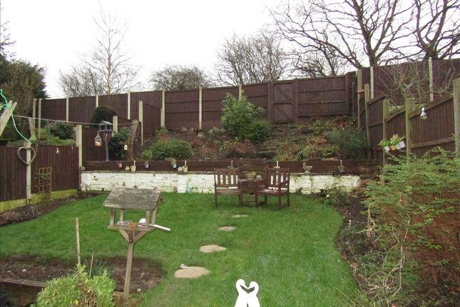 Garden of Bosworth Drive, Newthorpe, Nottingham NG16