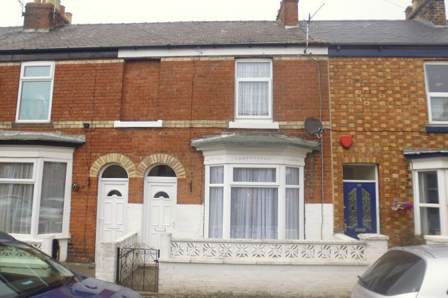 Thumbnail Terraced house to rent in Hoxton Road, Scarborough