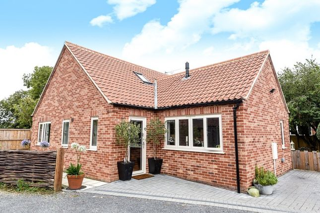 Thumbnail Detached bungalow for sale in The Street, Hindolveston, Dereham