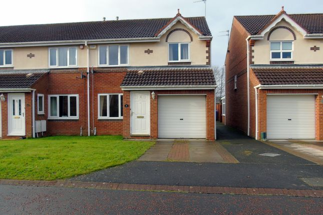 Thumbnail Terraced house to rent in Crookham Grove, Morpeth