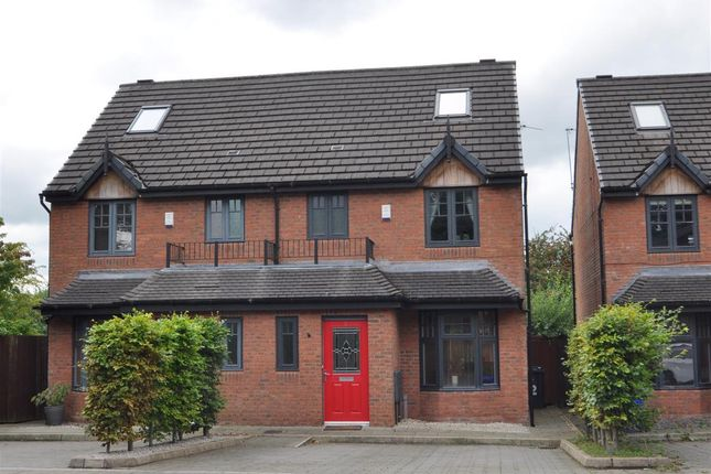 Thumbnail Semi-detached house for sale in Edgeworth Row, Stansfield Road, Hyde