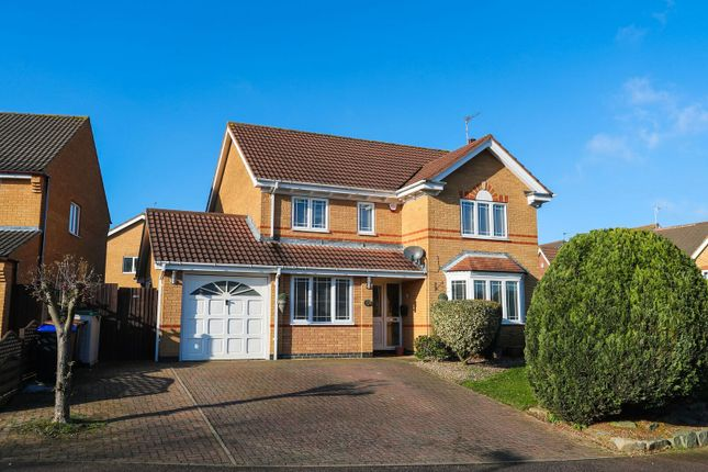 Thumbnail Detached house for sale in Tewkesbury Close, Northampton