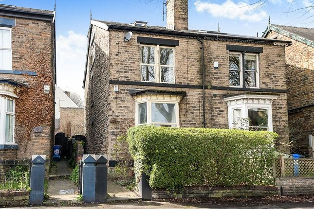 Thumbnail Semi-detached house for sale in Crescent Road, Sheffield