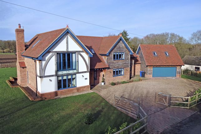 Thumbnail Detached house for sale in Manor Road, Elmsett, Ipswich, Suffolk