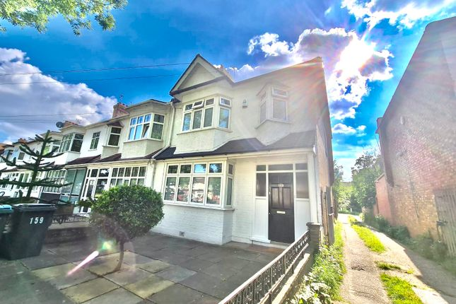 Thumbnail End terrace house to rent in Downhills Park, London
